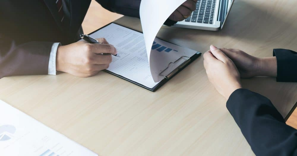 Interviewer aiming to attract the best candidates