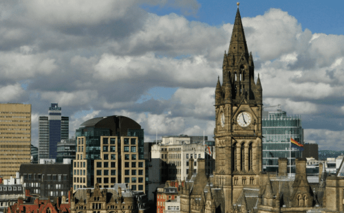 Manchester sky line home to many it jobs in the north west