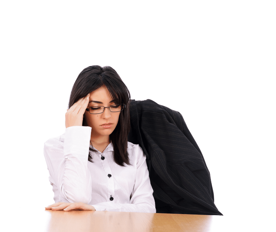 Hiring manager looks crestfallen after hiring the wrong candidate