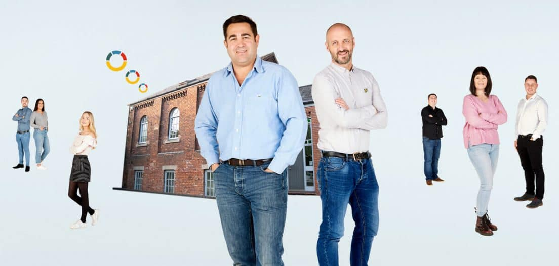 Adria Solutions Rebrand! No more stock images, this is our building and our team!