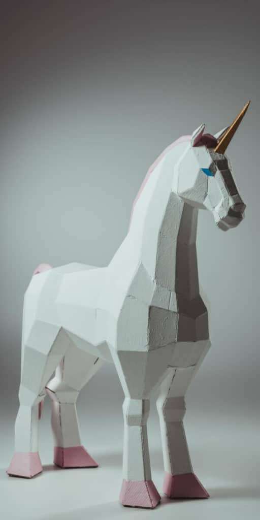 A large, white pink hoofed unicorn. Recruitment can often feel like you're searching for one of these