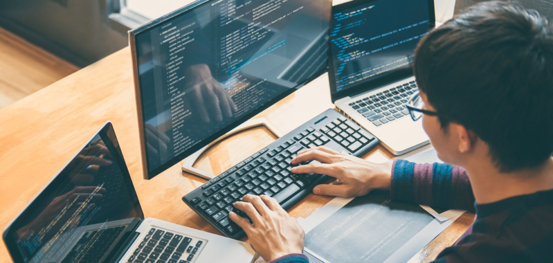 .NET Developer working across multiple screens