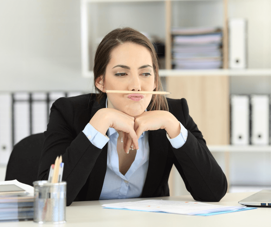 Lady wasting time applying for unsuitable jobs