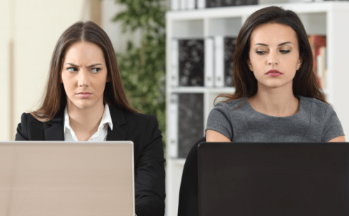 Lady wondering how her friend gets the most out of working with a recruitment agency