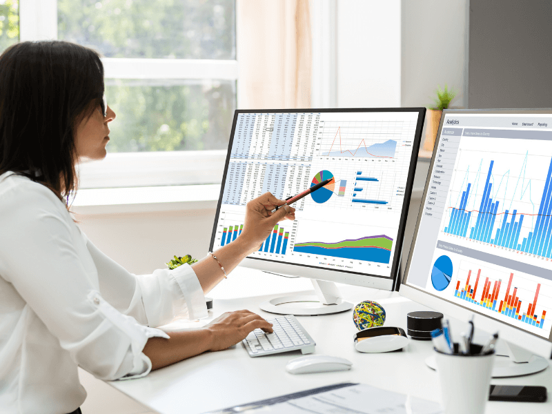Data analyst looking for trends amongst the figures