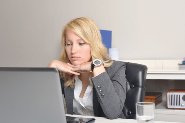 When a new job doesn't work out, it can be upsetting - this lady knows all too well